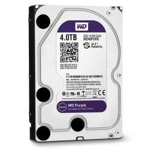 "WD40PURX Dysk 3.5"" 4TB Western Digital Purple SATA 6Gb/s 64MB cache"