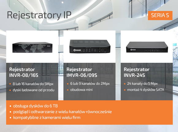 Rejestratory Ip S
